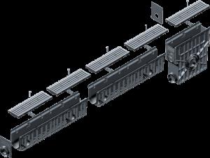 Linijska odvodnja - Hauraton Recyfix Pro